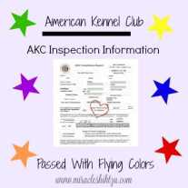 Link to AKC Inspection