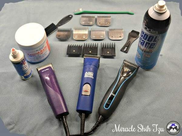 Dog Grooming Clipper and Accessories