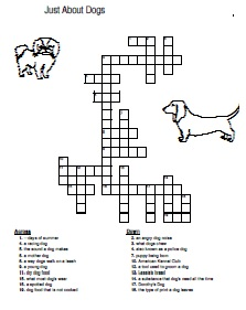 Crosswords About Dog Breeds