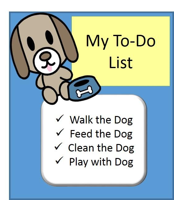 house chores checklist