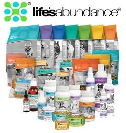 Life's Abundance Dog Food and Other Products