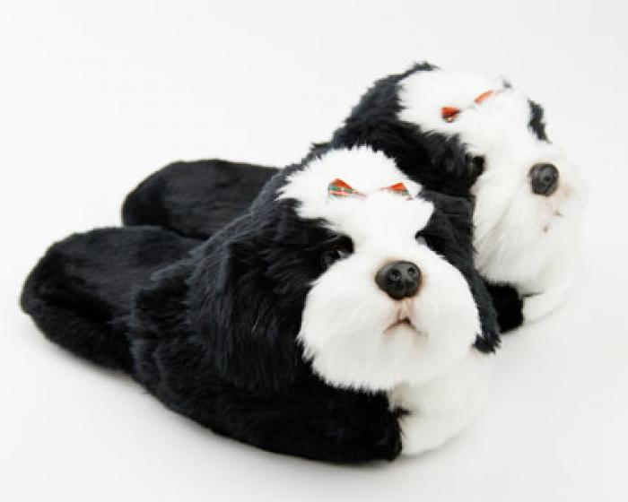 A Cozy pair of Shih Tzu slippers could make an ideal gift for any Tzu lover
