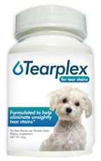 Tearplex, tear stain reducer and eliminater