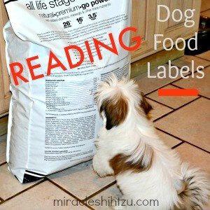 Dog Food Labels Link